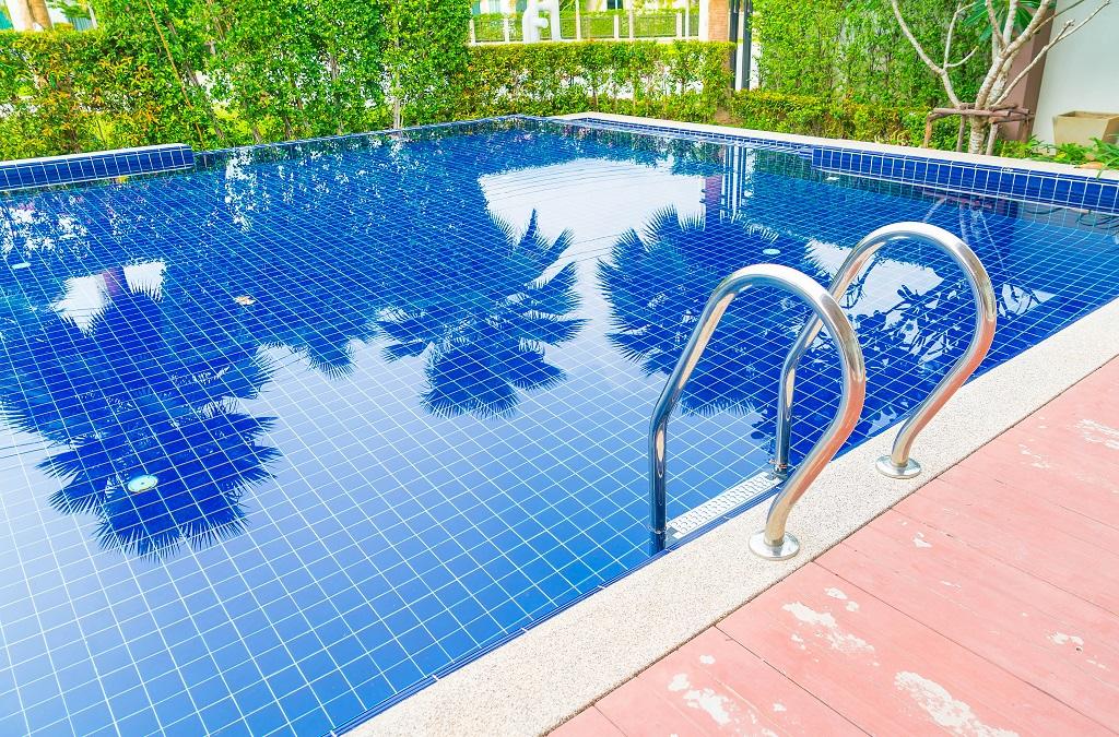 piscina en septiembre